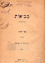 בבואות : דברי בקרת / יעקב פיכמן