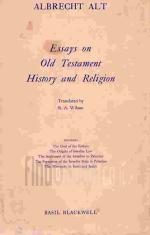 Stock Image Essays on Old Testament History and Religion