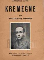 Kremegne (Artistes juifs) / Waldemar George