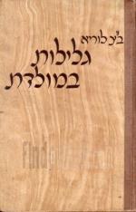 גלילות במולדת : מסות ומחקרים בהיסטוריה ובטופוגרפיה של ארץ-ישראל