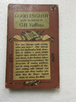 Good English how to write it