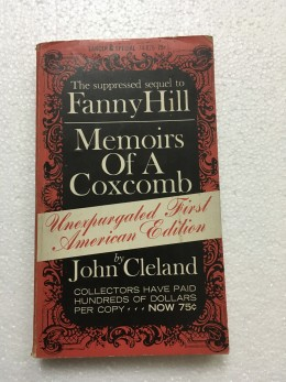 Memoirs of a coxcomb - The suppressed sequel to Fanny Hill