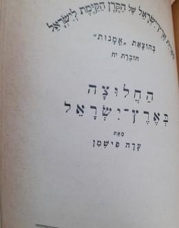 לנער החלטתה בארץ ישראל