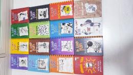 יומנו של חנון 16 ספרים