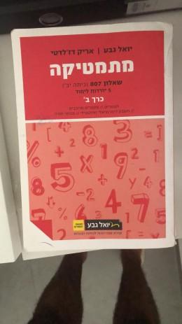 מתמטיקה שאלון 807 כרך ב