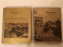 צילומי ירושלים הראשונים העיר החדשה+העיר העתיקה במארז מהודר