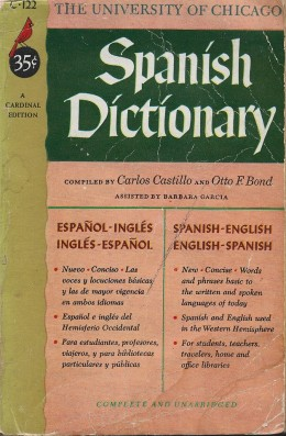 The University Of Chicago Spanish Dictionary