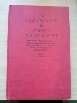 The Role Of Religion In Modern Jewish History