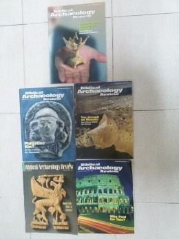 Biblical Archaeology Review Set Of 5 1992,2001,2002