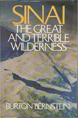 SINAI The great and terrible wilderness dedicated and sighned