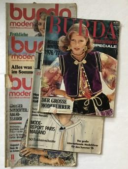 חוברות בורדה בגרמנית משנת 1975-1976