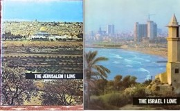 Two Books The Jerusalem I Love The Israel I Love