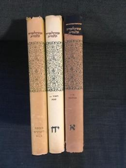 אנציקלופדיה תלמודית 18 כרכים א-י