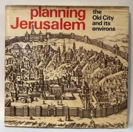 planning jerusalem the old city and its environs