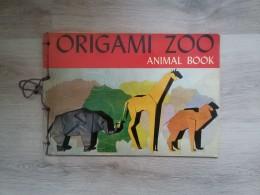 origami zoo animal book