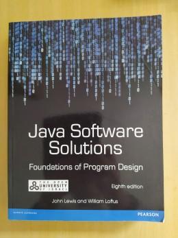 Java software solutions (ספר + 2 חוברות מצגות)