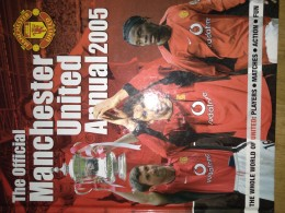 The official Manchester united , Annual 2005