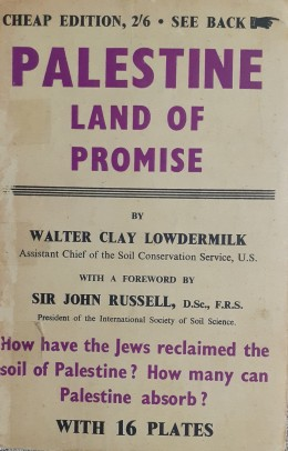 PALESTINE LAND OF PROMISE WITH 16 PLATES